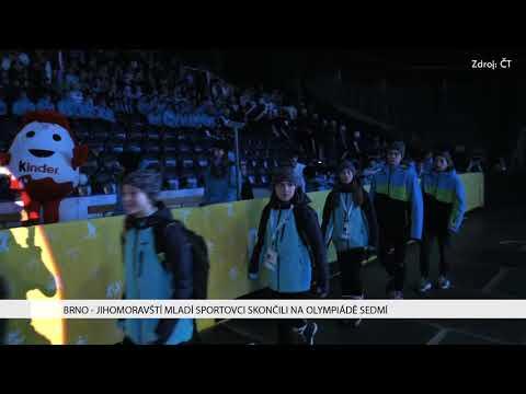 TV Brno 1: 2.2.2018 Jihomoravští mladí sportovci skončili na olympiádě sedmí.