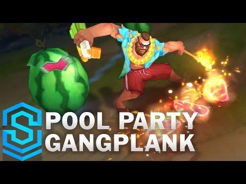 Gangplank Tiệc Bể Bơi - Pool Party Gangplank