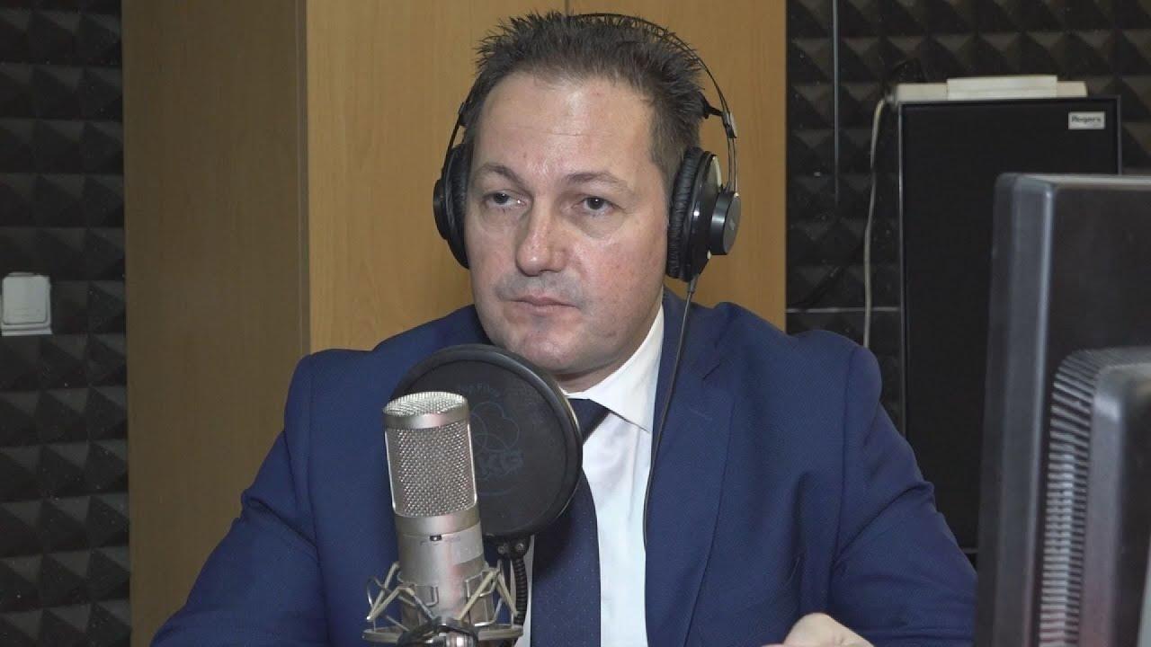 O κυβερνητικός εκπρόσωπος Στέλιος Πέτσας στο Πρακτορείο FM 104,9  στην Θεσ/κη