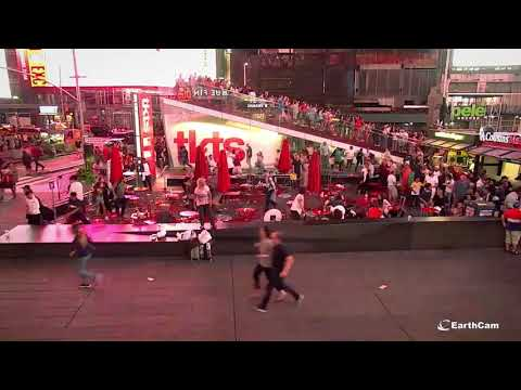 Time Square Shooter Scare Event