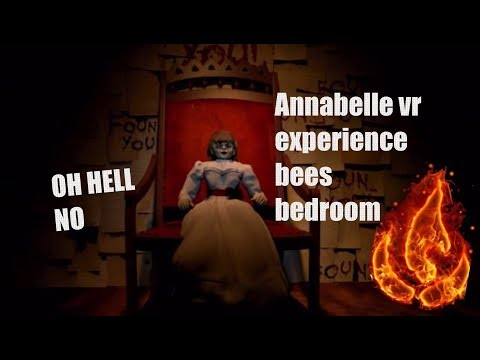 Annabelle the creation vr experience bees bedroom