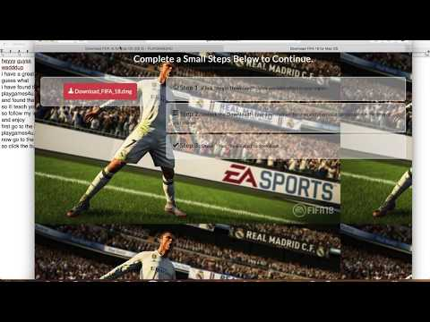 FIFA 18 For Mac (MacBook IMac) Download DMG And Quick Install FIFA 18 USA