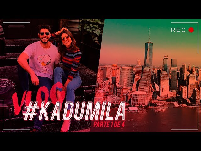 #KaduMila Vlog - NYC & Boston Vol.1 - Super Vaidosa