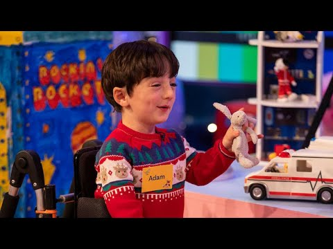 Adam King's Surprise Guest | The Late Late Toy Show | RTÉ One