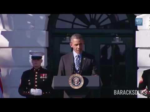 barack obama sings Hotline bling 2016