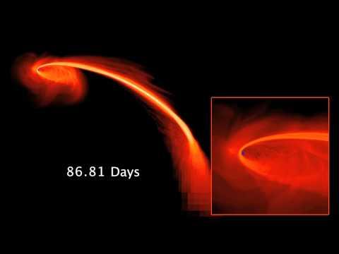 黑洞吸食距離27億光年的恆星,139天毀滅!