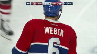 Gotta See It: Weber scores first as a Hab on signature one-timer by Sportsnet Canada
