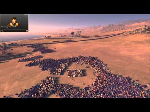 "Total War: Rome 2 - Massive Battles - ""1000 Spartans Vs. 20,000 Eastern Spearmen"""