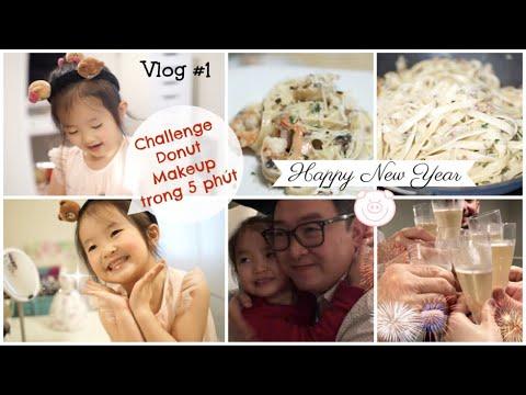 Donut làm CHALLENGE MAKEUP trong 5 phút ♥ Cách làm mì Ý đơn giản cho những bữa tiệc ♥ Vlog #1-2019 - Thời lượng: 15 phút.