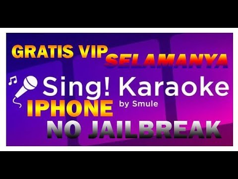 GRATIS VIP SMULE IPHONE 100% WORK ( NO JAILBREAK )