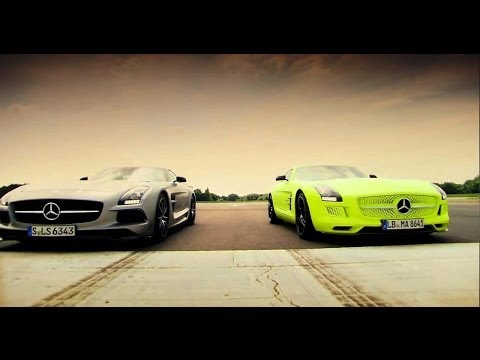 Mercedes - Jeremy drives the Mercedes SLS AMG Black Series and the Mercedes SLS AMG Electric Drive. The SLS ED is possibly the most brilliantly revolutionary thing that...