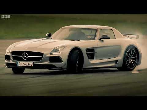 petrolio vs elettrico - mercedes sls amg confronto - top gear - stagione 20 - bbc