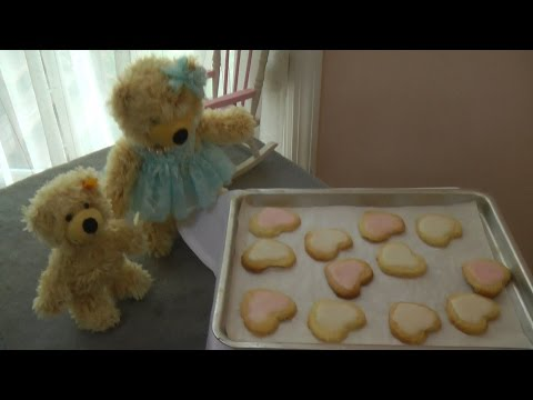 Sweet Hearts Cookies by Charly Steiff Teddy Bear for Mommy
