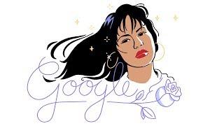 Celebrating Selena Quintanilla Google Doodle