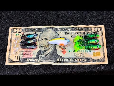 Video $10 Micro Fishing Challenge (Caught My New PB) download in MP3, 3GP, MP4, WEBM, AVI, FLV January 2017
