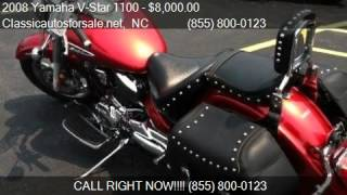 8. 2008 Yamaha V-Star 1100 Silverado for sale in Nationwide, NC #VNclassics