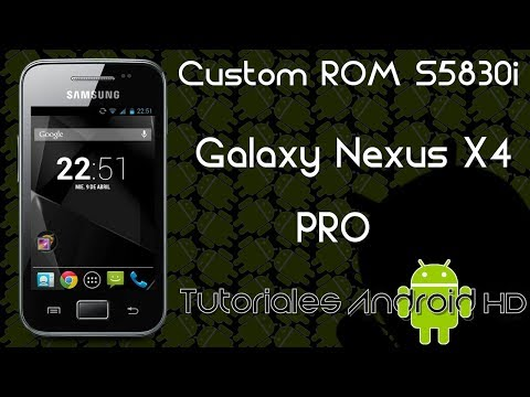 Galaxy Nexus X4 Pro ROM 99% ESTABLE Pure Android [Galaxy Ace s5830i-m-c-39i]