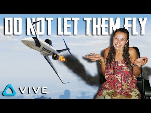 NEVER LET YOUR WIFE FLY AN AIRPLANE - VTOL VR GAMEPLAY