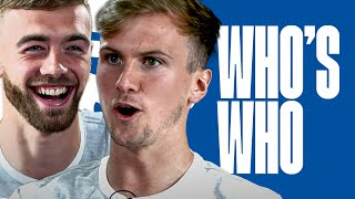 Subscribe to FATV: http://bit.ly/FATVSub It's the turn of Arsenal pair Calum Chambers & Rob Holding to take on Who's Who.