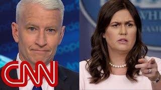 Video Anderson Cooper mocks Sarah Sanders' 'transparent' legacy MP3, 3GP, MP4, WEBM, AVI, FLV Januari 2019