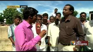 Report on the rain and water situation from Tharangampadi, Nagapattinam