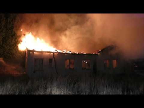 Požár ve Šternberku….