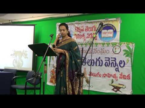 TANTEX - NNTV 116th - 38th TX Sahitya Vedika - Srujana Aduri Song 2