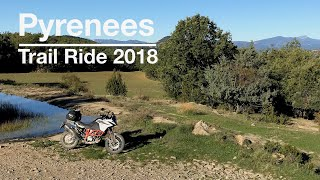 9. Motorbike trip across the Pyrenees using some TET trails on a KTM 1090 Adventure R