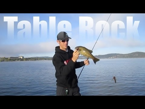 Bass Fishing Tournament- Table Rock Lake Summer Pattern Rundown