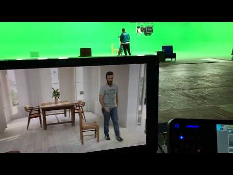 RealTime Green Screen Compositing Demo