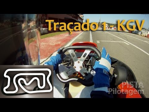 Traçado 1 Kartódromo da Granja Viana - Volta Detalhada!