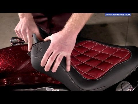 seats - We show you how to install a new seat on a Harley Davidson Sportster, this process is very similar for all makes and models. Our tech has a neat little zip t...