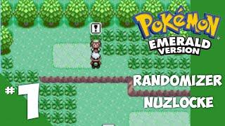 Pokemon Emerald Randomizer Nuzlocke - Ep 1 Screw You May by 4Blox