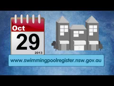 swimming - In support of the Royal Life Saving Be Pool Safe Campaign and the NSW Swimming Pool Register - this video provides information/details for the NSW Swimming P...