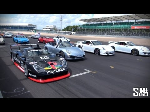 WORLD RECORD: 1,208 Porsche 911s at Silverstone
