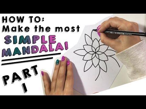 HowTo: make the most simple mandala!
