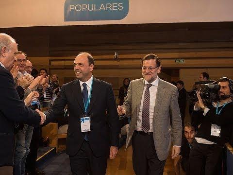 Angelino Alfano interviene en la Convención del PP