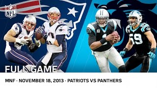 Video Cam Newton Beats Tom Brady | Patriots vs. Panthers (Week 11, 2013) | NFL Full Game MP3, 3GP, MP4, WEBM, AVI, FLV November 2017