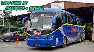 Video TRIP UNIK Malaysia ke Brunei Dengan Bus - 8 KALI STEMPEL PASPOR   Trip Jesselton Express KK - BSB MP3, 3GP, MP4, WEBM, AVI, FLV Oktober 2018