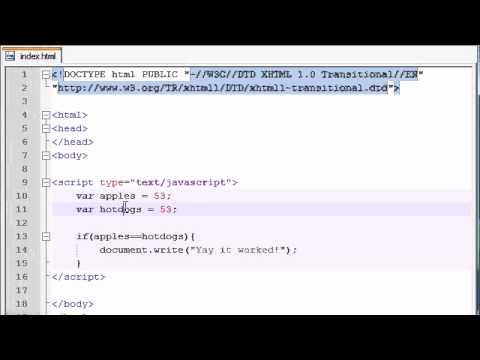 JavaScript - if Statement
