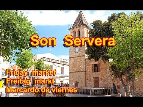 Cala Millor Cala Bona - Son Servera market 2017