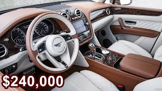"Bentayga MullinerBentayga Mulliner is the ultimate expression of the world's most luxurious SUV.Developed and created by Mulliner it takes Bentayga to another level through the exquisite craftsmanship for which Mulliner is renowned. Every detail has been considered, every idea developed and refined to be the best of the best.The Mulliner name has been a mark of luxury travel for almost 500 years. Working with Bentley since the 1920s , it is now established as Bentley's very own personal commissioning division. It epitomises what can be achieved when a customer's vision meets the imagination and craftsmanship of the world's finest coachbuilder.Produced in limited numbers, Bentayga Mulliner is the definition of exclusive luxury. Mulliner's experts have selected the finest features and options available, so you will be one of the few to enjoy the pinnacle of Bentley design, craftsmanship and luxury.The Bentley Bentayga Mulliner could be the most expensive luxury SUV yetBritish luxury motoring marque Bentley Motors has unveiled what could be one of the most expensive SUVs ever produced. And there's many reasons for this. The first one comes from the fact that it includes the word 'Mulliner' in its name, which is Bentley's in-house personal commissioning division in Crewe. While the new SUV has just been announced, we can only expect to see the first (of a they very few) example at Bentley Motors stand at the upcoming Geneva International Motor Show.Starting with the numbers. Bentley says that the Bentayga Mulliner will be produced in very limited numbers that should technically make up for its expected high price tag. From here its all about Mulliner and its exquisite craftsmanship that makes this SUV exquisite and unique.Bentley claims that, ""The Bentayga Mulliner is the most exquisitely appointed luxury SUV ever created,"" and that's a rather tall one indeed, more so because Mercedes-Maybach G 650 was Landaulet was announced just a few weeks ago. And while it was derived from the G500, it packs in quite punch in terms of capabilities and fine-crafted interiors. But even though it is a Maybach it still does not match up with what you get on a Bentayga Mulliner.Starting with the exterior you immediately get the feeling that it is something special. This is provided you have opted for the optional Duo Tone paintwork, which is a first for the Bentayga lineup. The finish is achieved by choosing ""the perfect proportional balance point for the split"" and this makes the cabin and bonnet appear as though they were floating. Add to new paintwork a new set of Mulliner 22-inch Paragon seven-spoke wheels with the floating centres and the unique exterior badge and you can you will certainly be able to tell your Bentayga from the rest.But Bentley's are all about customisation and interiors. And since its Mulliner, this is taken to a whole new level. The interior design and colour treatment is a bit unique. This is because Mulliner has gone in with a split colour scheme, where the front and rear seats are finished in different hide colours and offered in seven suggested colour ways. The interiors will always compliment the optional Duo Tone exterior paintwork. Everything is handcrafted and hand-stitched.Bespoke features by Mulliner include a new Mulliner Bottle Cooler in the rear of the cabin, featuring an illuminated chilling cabinet and Cumbria Crystal flutes. And all of these fit in the rear center console while seating the rear passengers in luxury.The rest of the interior is wrapped with Ombré Burr Walnut Veneer, one that was exclusively introduced to the Bentayga Mulliner model. There's mood lighting, with six different 'moods' and Mulliner thread plates along with Bentley LED welcome lamps. There's also a customisable 'my mood' setting available.Adding to the interior experience is the audio system. Bentley went with Naim and delivered what it claims is the most powerful and quality audio system in its class. It features a a twenty speaker setup with a 1,950-watt, 21-channel amplifier. The cherry on the cake is the the bespoke mechanical Mulliner Tourbillon by Breitling clock. Yes, this one's for your SUV.Getting into the powertrain, the Bentayga Mulliner gets Bentley's class-leading 6.0-litre, W12 engine that produces 600bhp and 900Nm of peak torque, delivering a 0-60 mph time of just 4.0 seconds and a top speed of 301 kmph.Read More http://tech.firstpost.com/auto/the-bentley-bentayga-mulliner-could-be-the-most-expensive-luxury-suv-yet-365192.html""SUBSCRIBE NOW"""
