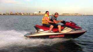 7. seadoo rxt 215 supercharged port melbourne crash fall at high speed