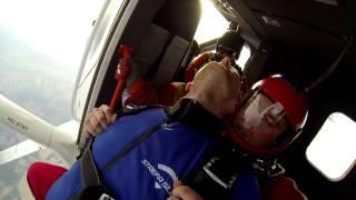 Gliwice Poland  City new picture : Tandem skydiving - Strefa Silesia, Gliwice, Poland 11/4/2015