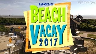 It's time for another dose of summer beach vacationing with the fam! Join Dee & Jay, along with A.J., Emily & Fluffy, as they bean bag, dab, shop, light sabe...
