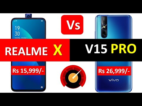 Realme X Vs Vivo V15 Pro Full Details Specification base Overall Comparison Not a Review