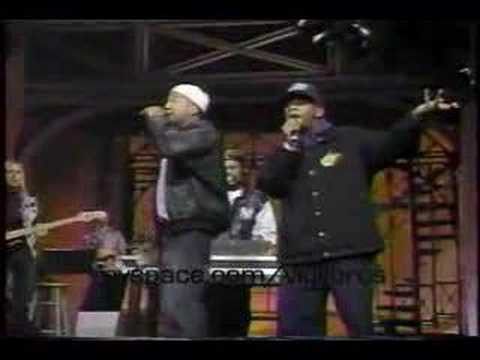 A Tribe Called Quest - Check The Rhime (Live On David Letterman)