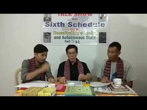 Sixth schedule talk show part 82, j.i.kathar,semson teron pen longson engjai