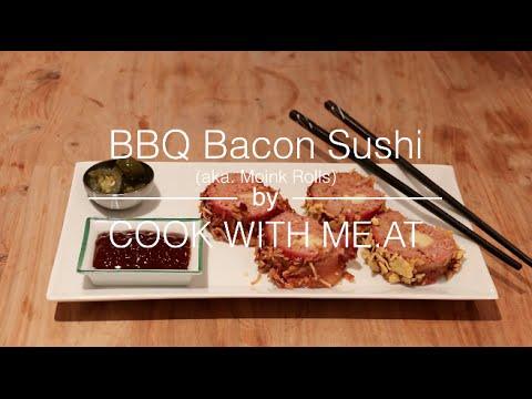 sushi alla pancetta - la ricetta