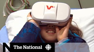 Virtual reality makes emergency room visits easier for kids